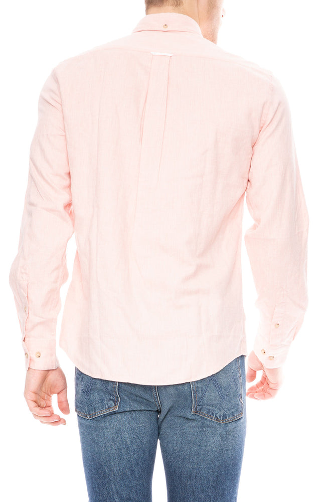 Acne Studios Isherwood Melt Shirt in Powder Pink at Ron Herman