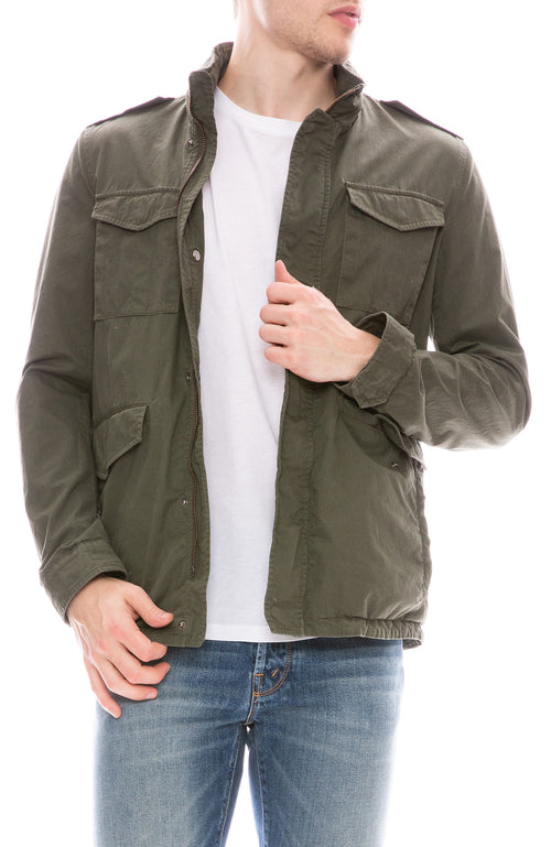Washed Cotton Field Jacket