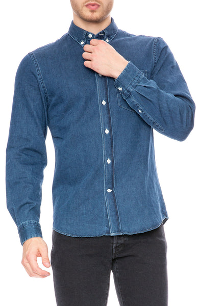25fa278fa86 Acne Studios Isherwood Denim Shirt at Ron Herman