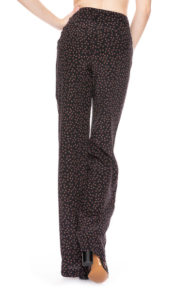 Nicholas Ditsy Rose Palazzo Pants at Ron Herman