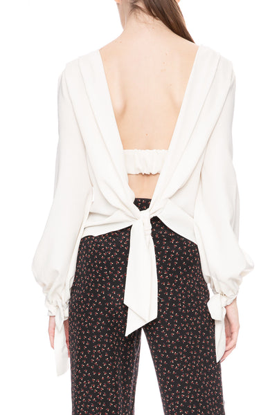Nicholas Valentine Crepe Blouse at Ron Herman