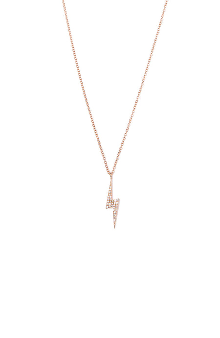 Diamond Lighting Bolt Necklace
