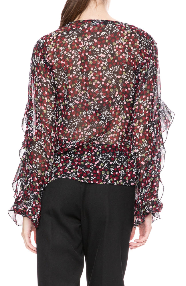 Nicholas Flutter Sleeve Blouse at Ron Herman