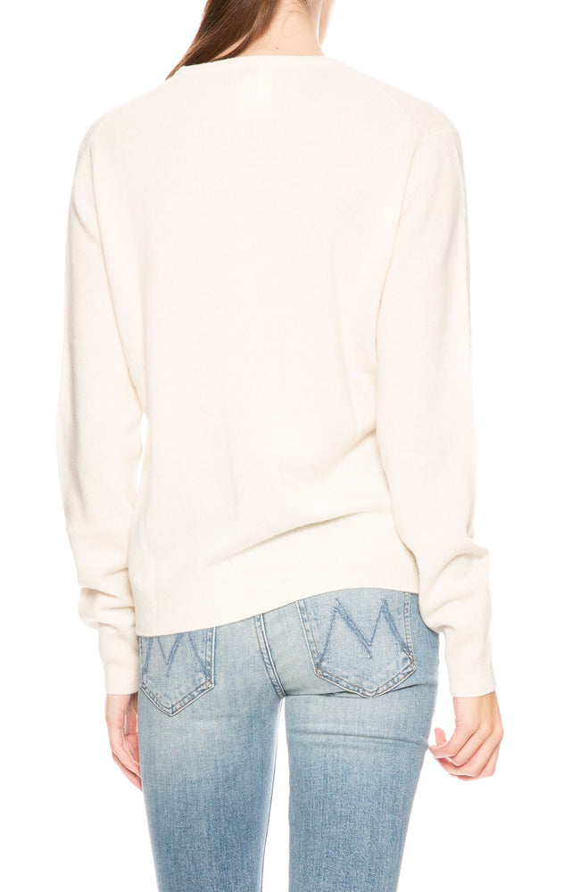 Kule Cashmere Love Sweater in Cream at Ron Herman