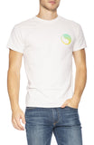 Free & Easy Mens Short Sleeve Sunset T-Shirt