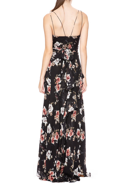 Nicholas Tie Front Floral Dress at Ron Herman