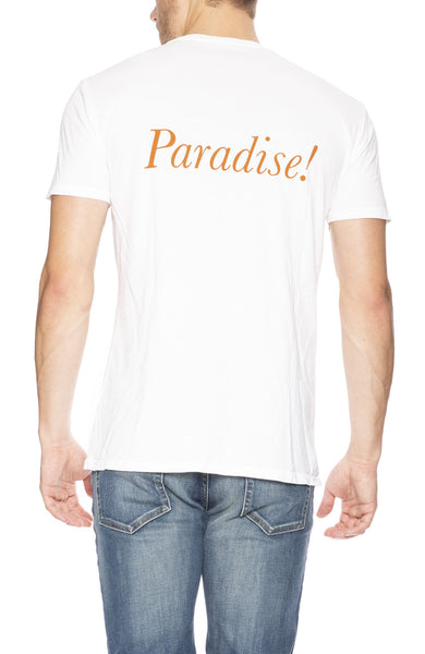 Quality Peoples Paradise Crew Neck Tee at Ron Herman