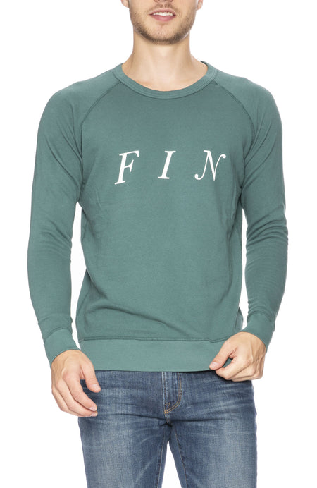 Fin Crew Neck Sweatshirt