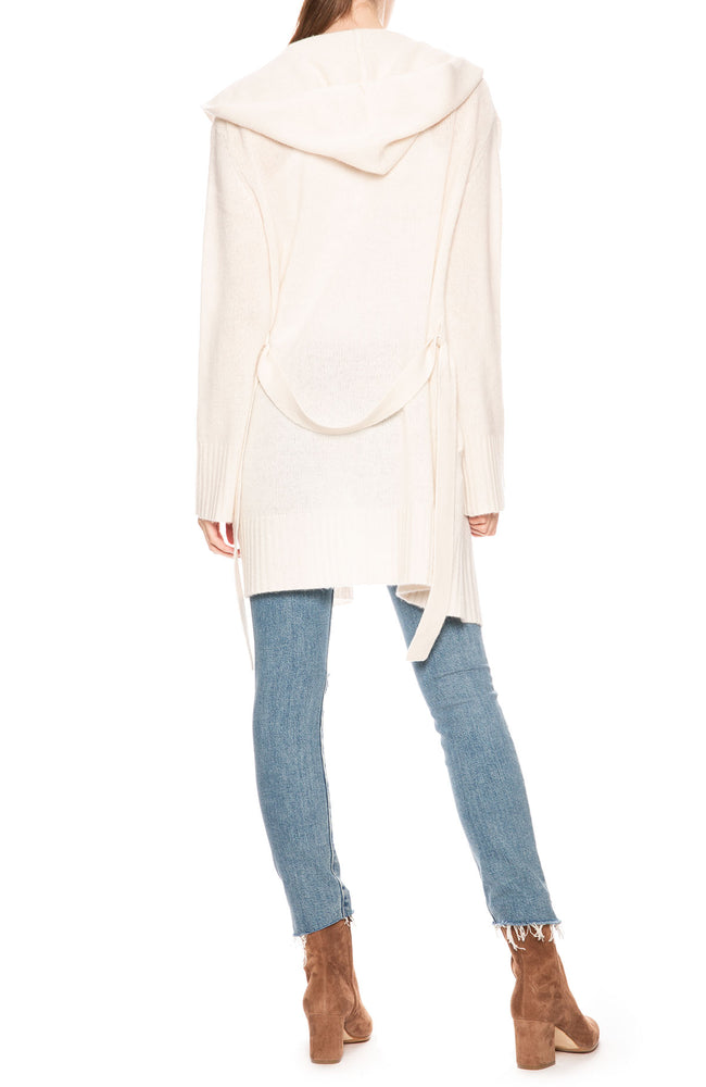 360 Cashmere Charolette Wrap Sweater at Ron Herman