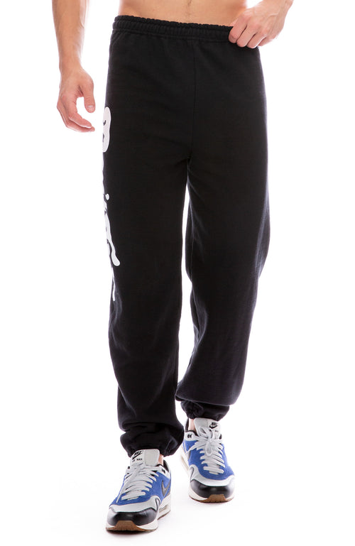 Free & Easy Don't Trip Classic Sweatpants in Black