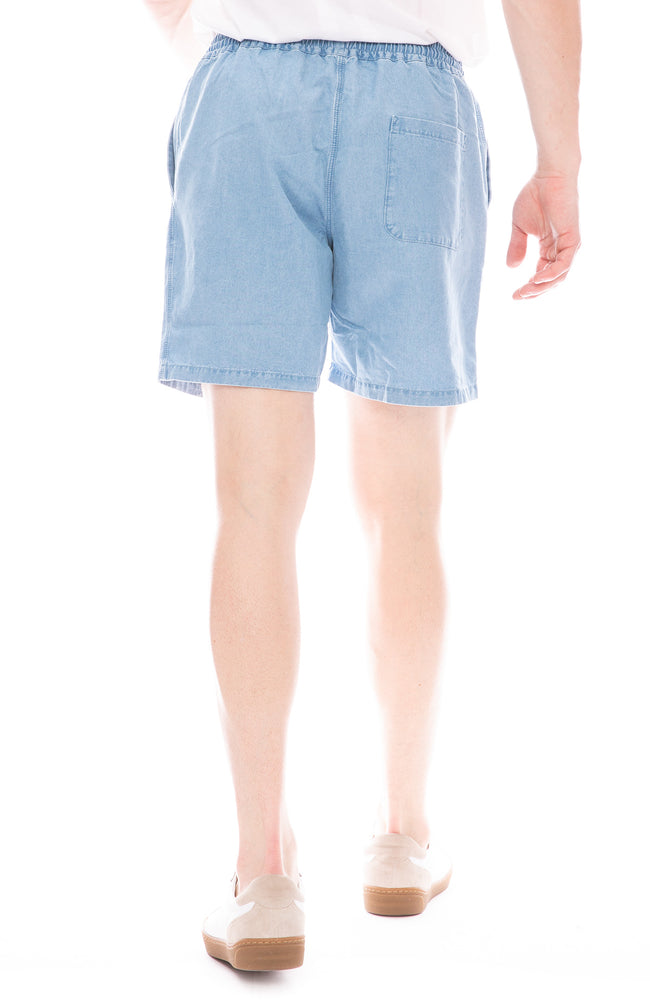 Padang Bleached Denim Shorts