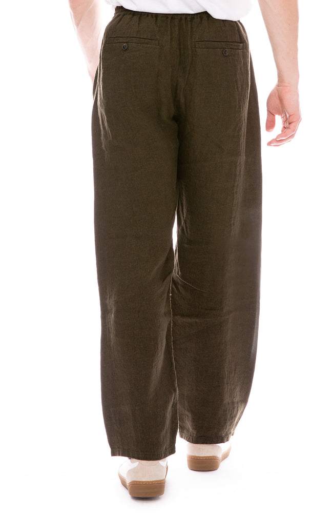 Samurai Trouser Pants in Military Green