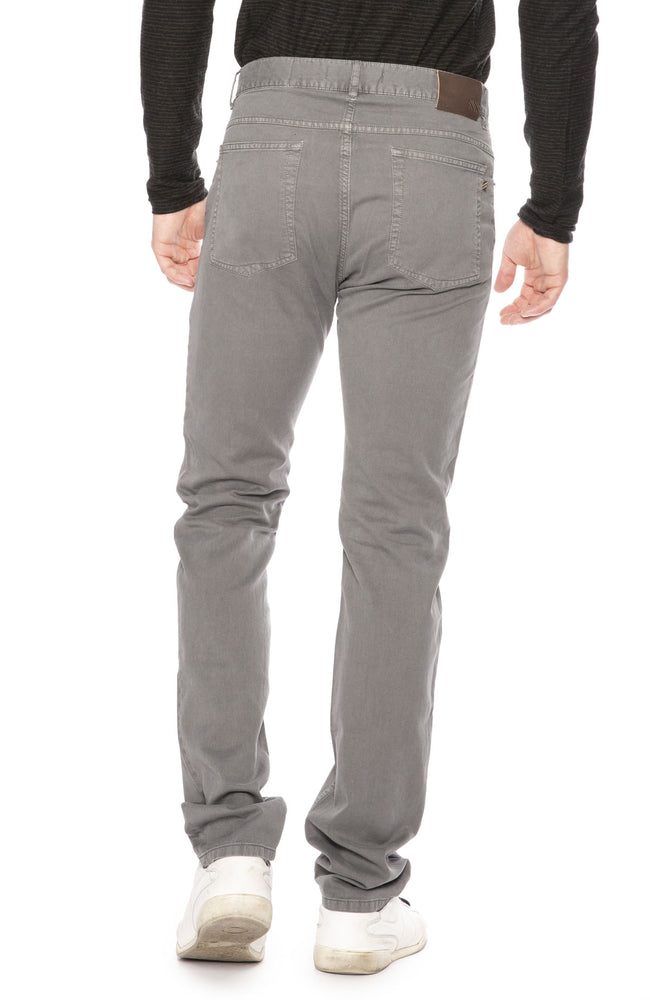 Billy Reid 5 Pocket Corduroy Pant in Charcoal at Ron Herman
