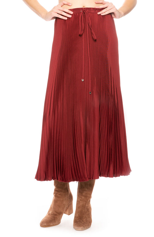 Tibi Knife Pleat Skirt at Ron Herman