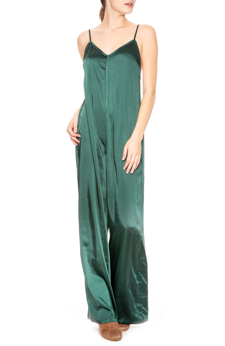 Liz Satin Jumpsuit