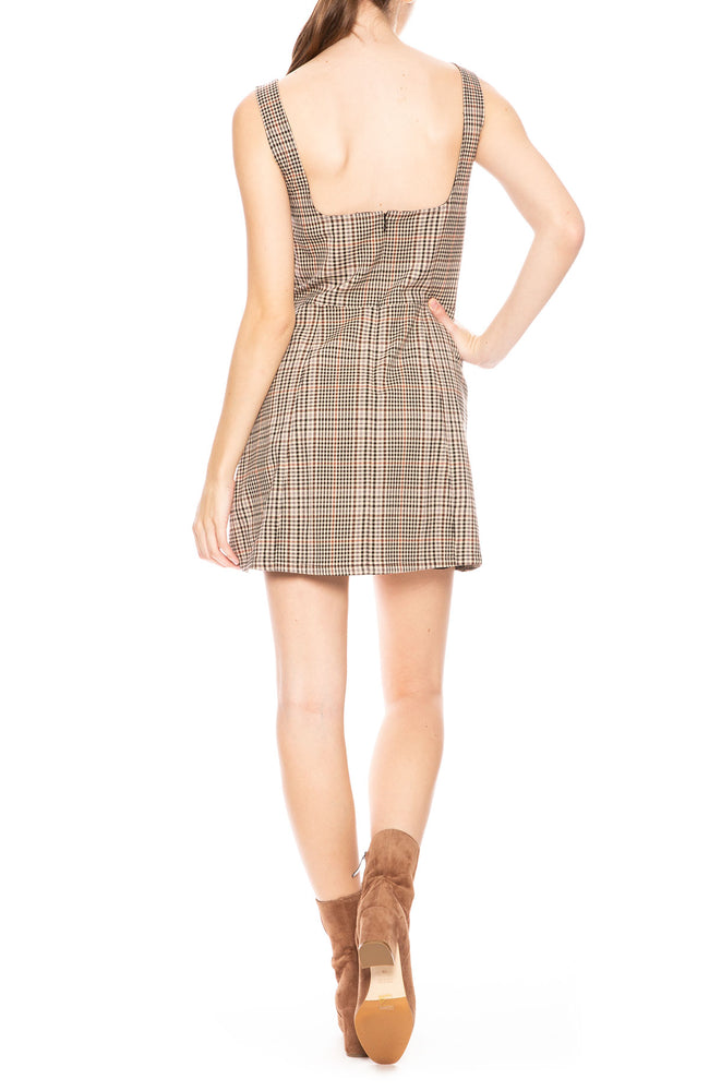 Capulet Lennox Plaid Dress at Ron Herman