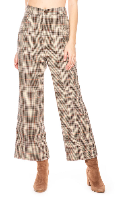 Jolie Plaid Pants