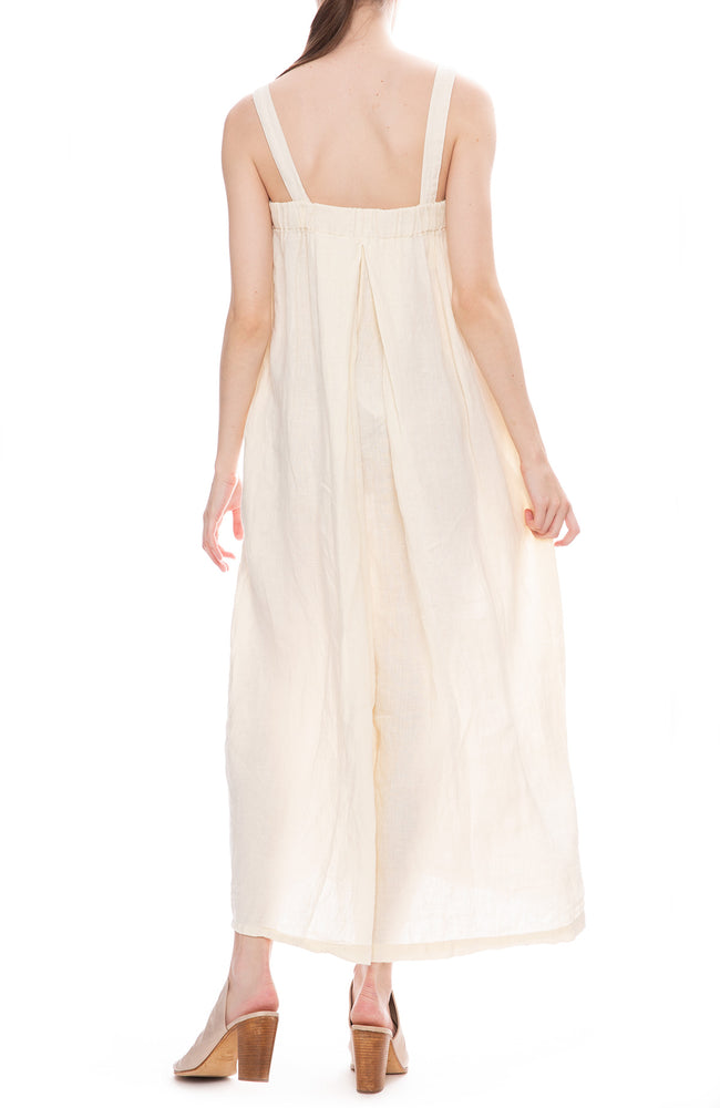 Black Crane Cream Wide Leg Jumper