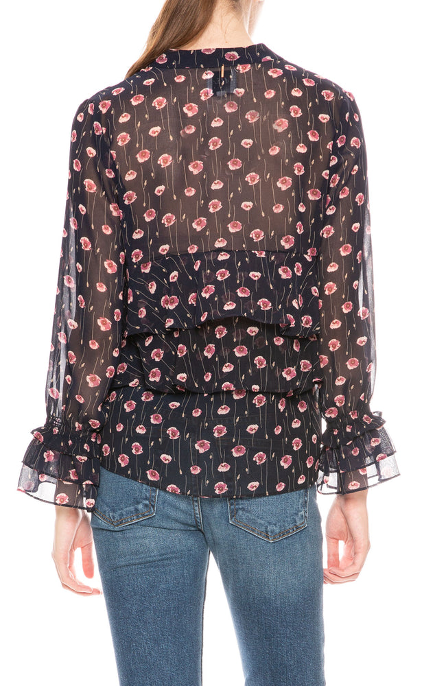 Misa Los Angeles Jema Print Top at Ron Herman