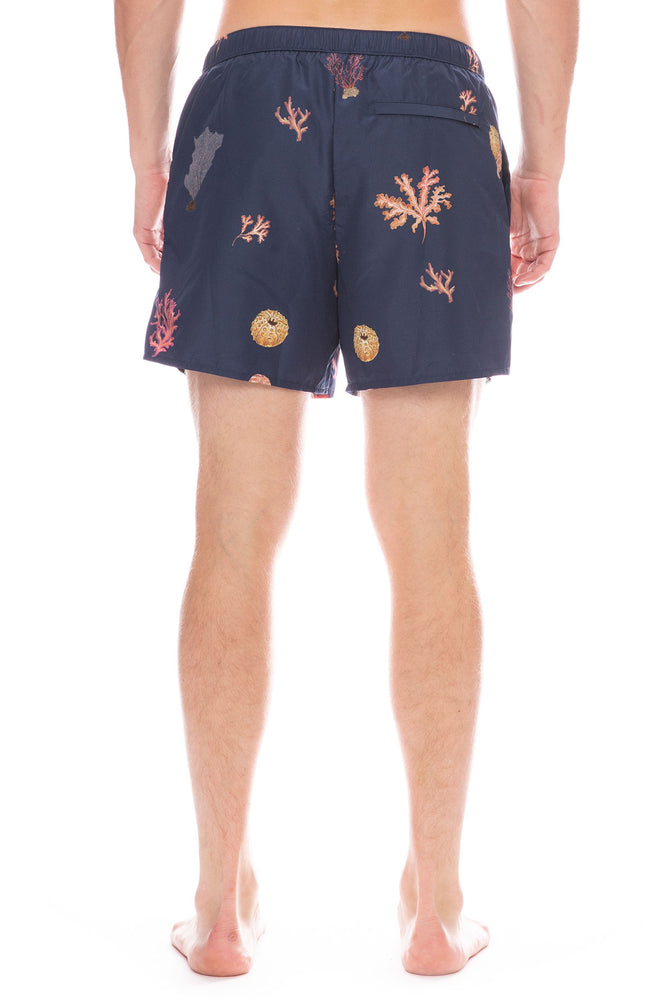 Coral Reef Print Swim Short