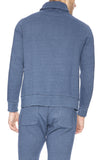 Goodlife Indigo Fleece Shawl Collar Sweatshirt