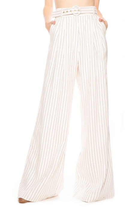 Corsage Tailored Stripe Pant