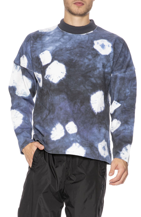 Fellke Bleach Indigo Sweatshirt