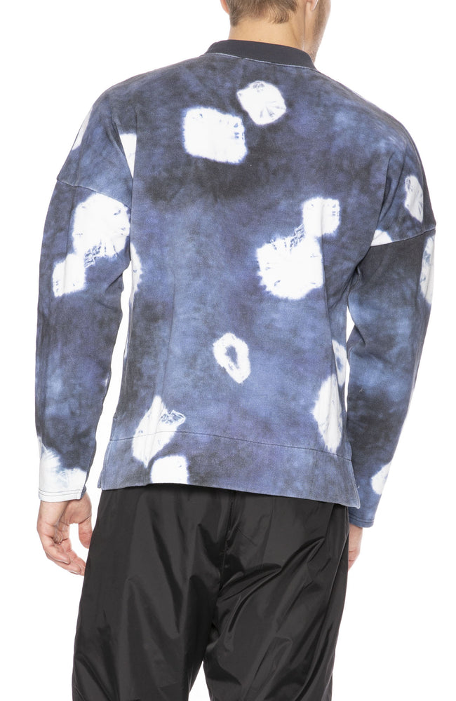 Acne Studios Fellke Bleach Indigo Sweatshirt