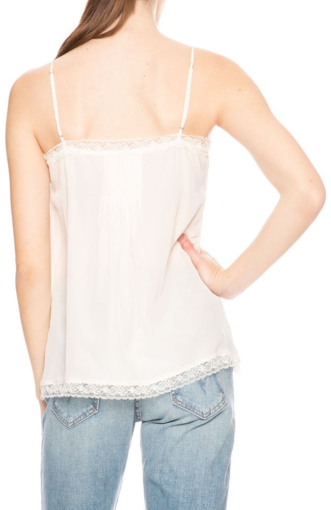 Zimmermann Lace Cami in Pearl at Ron Herman