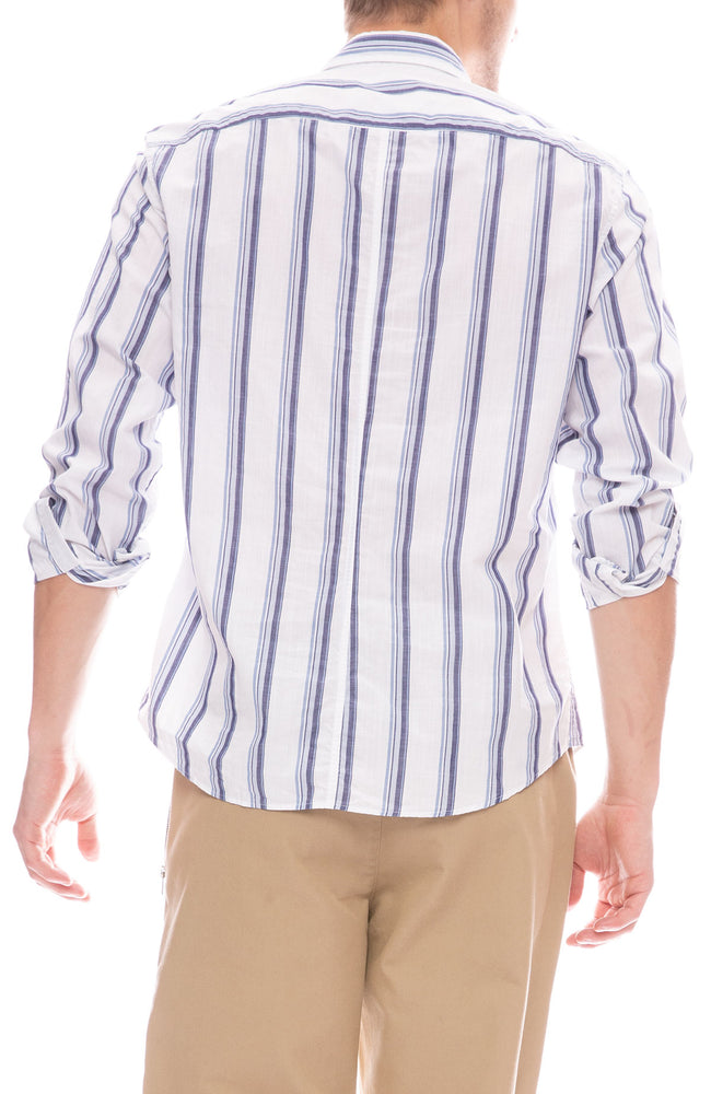 Don Chambray Stripe Shirt