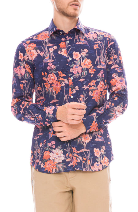 Exclusive Poplin Floral Shirt