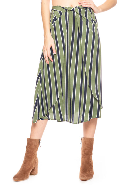 Sancia Lias Skirt in Mira Stripe at Ron Herman