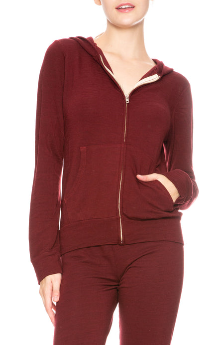 Super Soft Zip Up Hoody
