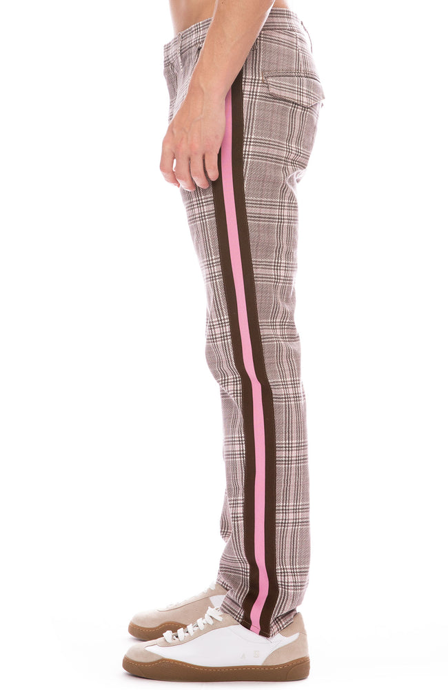 Mother Shaker Prep Plaid Pants