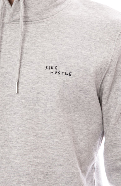 Yeah Right NYC Side Hustle Hoodie Detail