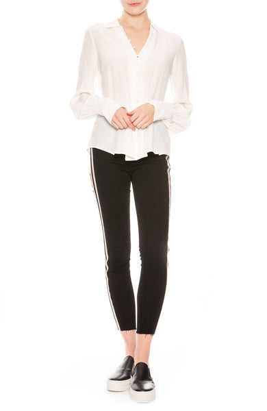 L'Agence Margot Sequin Stripe Jean at Ron Herman