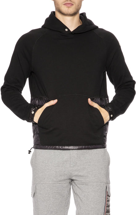 Maglia Quilted and Knit Hoodie