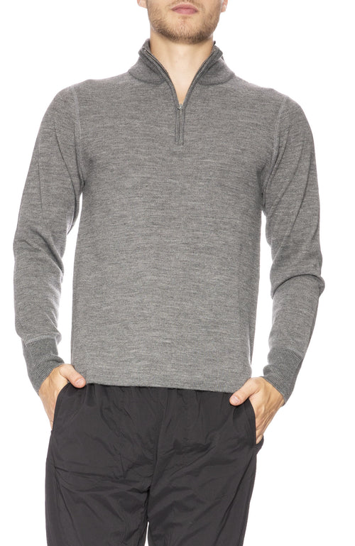 Relwen Mock Neck Pullover Sweater