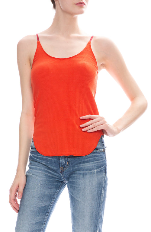 Moussy Vintage Basic Cami in Red