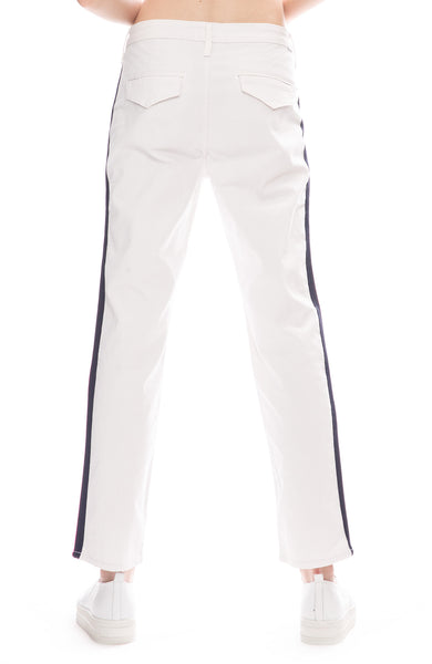 The Straight Shaker Side Stripe Ankle Pants