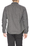 Relwen Double Blanket Shirt in Grey / Black