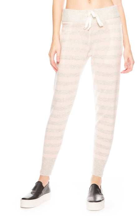 Hailey Stripe Cashmere Pant