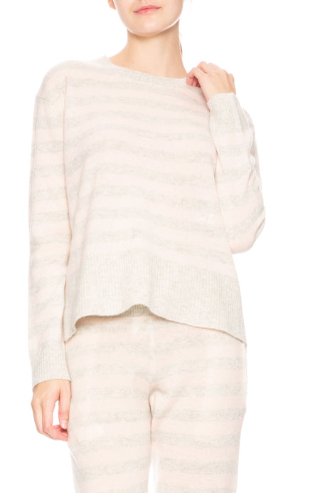 Charlee Striped Cashmere Sweater