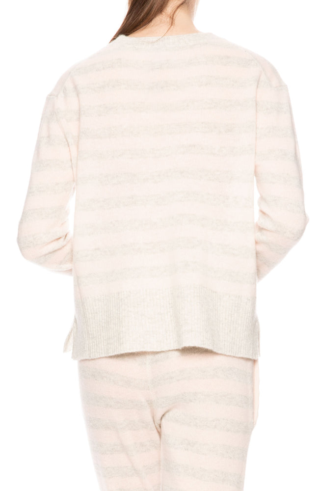 Morgan Lane Charlee Striped Cashmere Sweater at Ron Herman