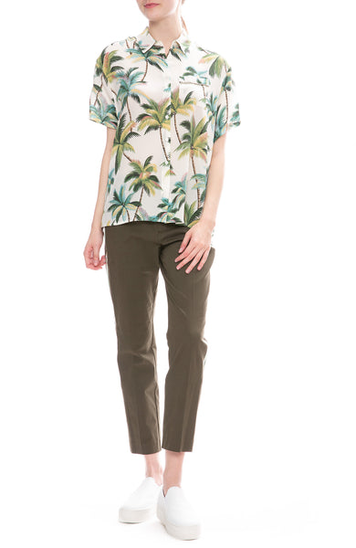 Le Superbe Club Tropicana Palms Print Shirt with St Honore Pants