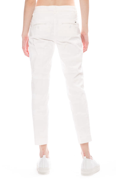 Masons New York White Camouflage Pants