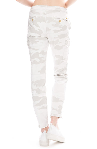 Masons Womens Camouflage Cargo Pants with Studs