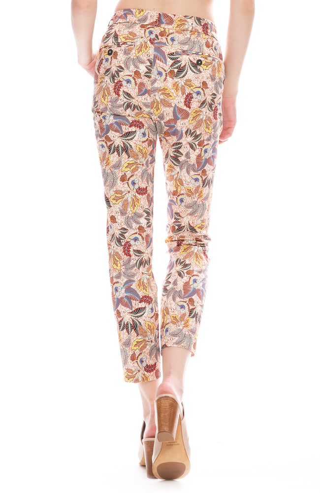 Sateen Stretch Pants