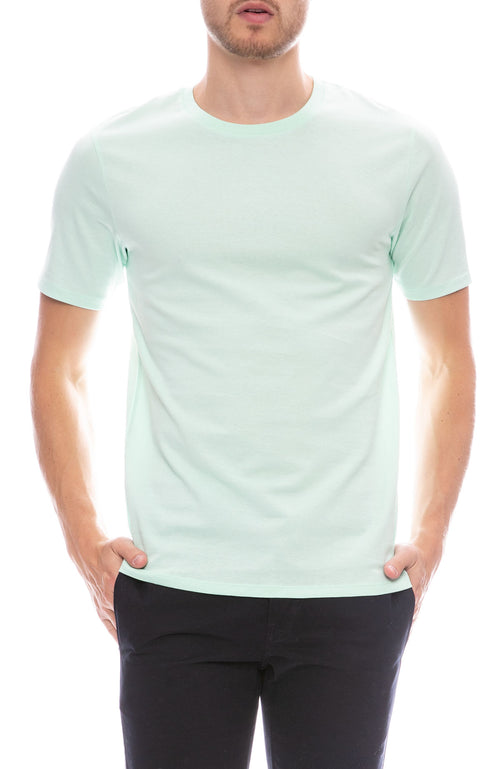 Acne Studios Measure Cotton T-Shirt in Pastel Green