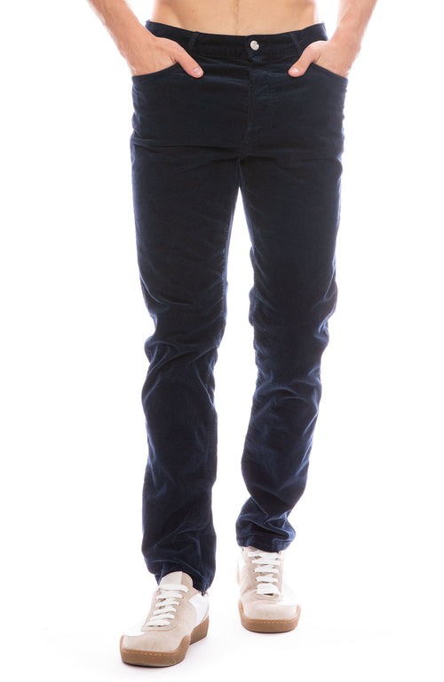 Mother Mens Chaser Corduroy Pants in Navy